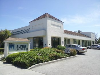 Alpine Electronics 5,000 Sq. Ft Facility in the heart of Silicon Valley